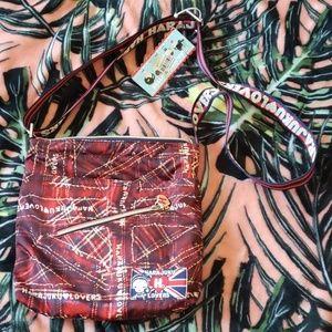 HARAJUKU LOVERS Plaid Jack Crossbody Bag NEW